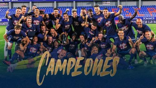 Huesca are Segunda Division champions