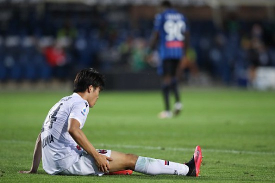 End of the season for Takehiro Tomiyasu 2020