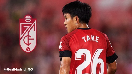Granada to sign Real Madrid youngster Takefusa Kubo on loan