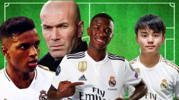 Rank Real madrid young guns in terms of their potential