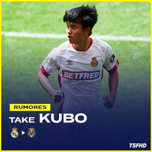 Villarreal have the edge to sign Kubo on loan deal