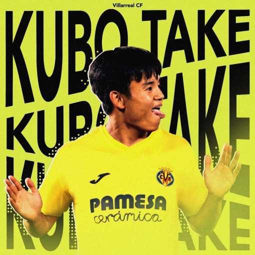 Take Kubo is about to be announced as a Villarreal player on loan without buy option