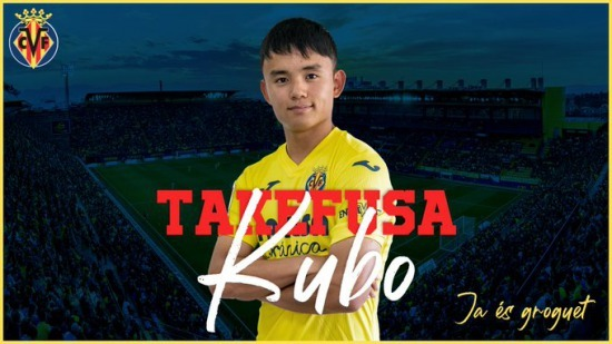 Real Madrid loan young midfielder Takefusa Kubo to Villarreal for one season