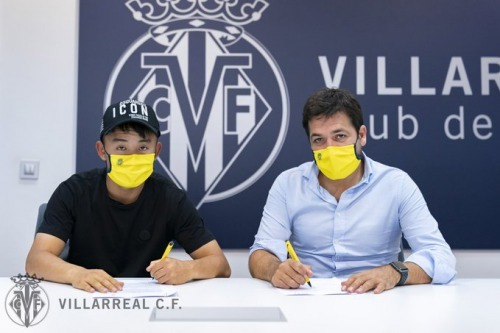 Villarreal have signed Takefusa Kubo from Real Madrid on a season-long loan