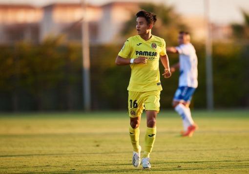 Kubo's first start in a Villarreal shirt