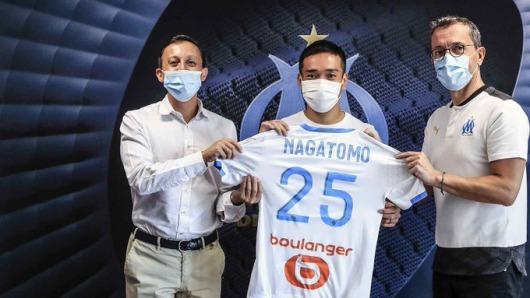 Yuto Nagatomo joins Olympique de Marseille