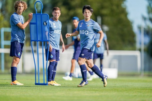Nakajima back in Training at fc porto