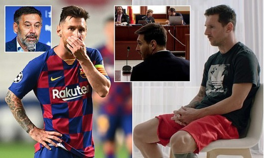 Messi interview with GoalMessi will stay at Barcelona