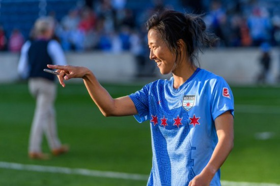Japan women's World Cup winner Yuki Nagasato loaned to men's club