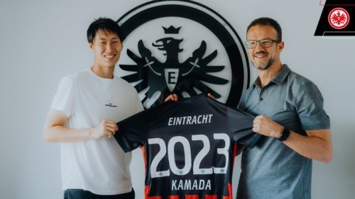 Daichi Kamada has signed a contract extension with the Eagles until 2023