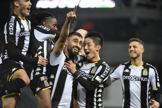 Ryota Morioka played provided an assist in Royals 3-1 win Charleroi