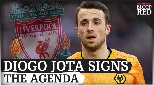 Liverpool sign Diogo Jota for £45m from Wolves