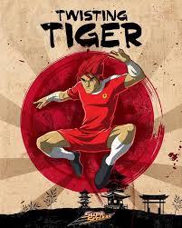 twisting tiger