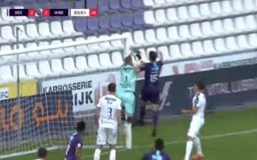 Beerschot 2-2 Beveren goal disallowed