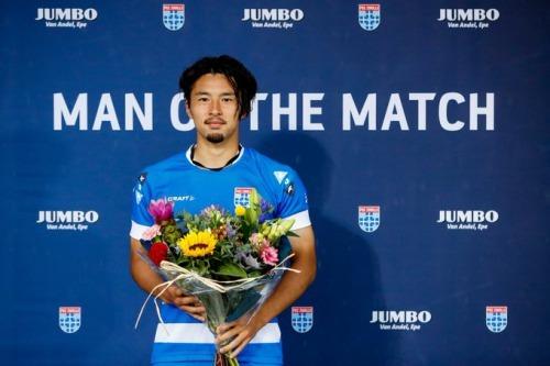 Yuta Nakayama Man of the Match against Sparta Rotterdam
