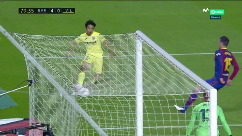 Barcelona 4-0 Villarreal Kubo