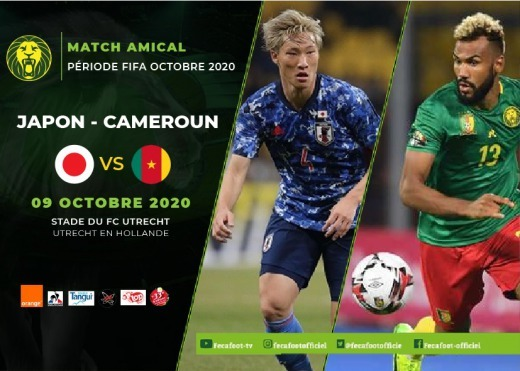 Japan vs Cameroon Utrecht, Netherland