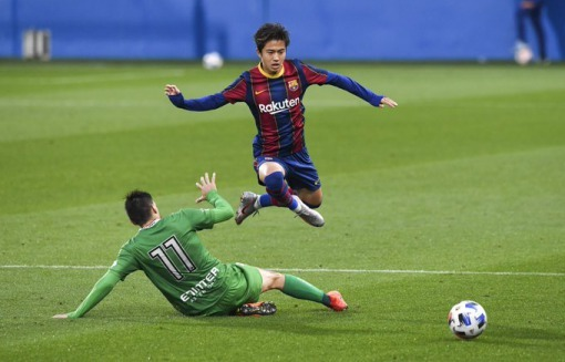 Abe Hiroki Barça B cornella