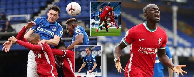 Everton 1 - 1 Liverpool Mane goal
