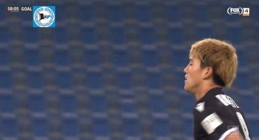 Arminia Bielefeld 1 Bayern 4 Doan goal