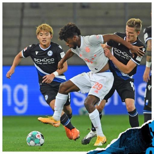 Arminia Bielefeld [1]-4 Bayern Munich Ritsu Doan goal