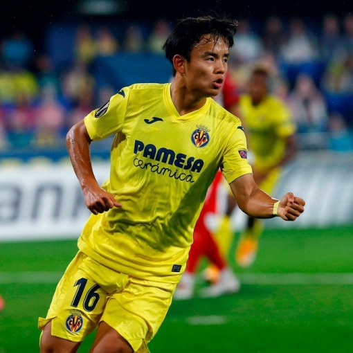 Kubo scores his first goal for Villarreal