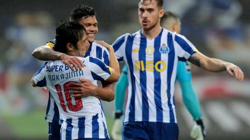 FC Porto 1-0 Gil Vicente Nakajima assist