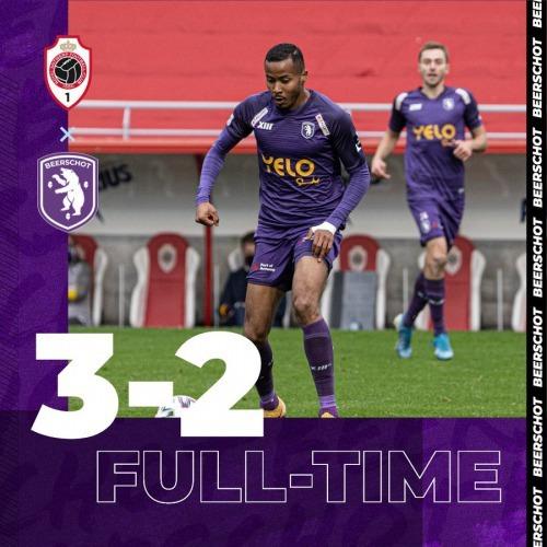 Antwerp 3-2 Beerschot Suzuki Musashi 2 goals