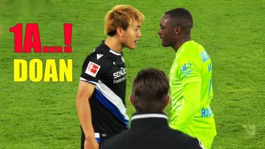 Wolfsburg 2-1 Arminia Bielefeld Doan ritsu fist assist