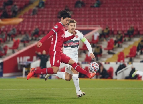 Minamino Liverpool 2-0 FC Midtjylland