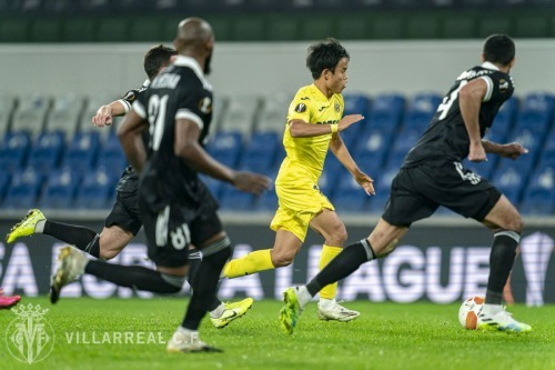 Takefusa Kubo vs Qarabag 3-1