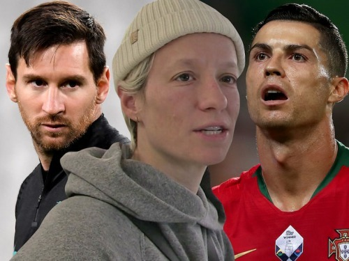 Megan Rapinoe Shades Cristiano Ronaldo Lionel Messi, Do More To Fight Racism