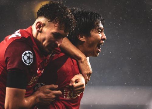 RB Salzburg 2-6 Bayern Munich Masaya Okugawa goal