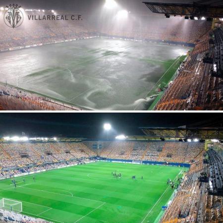 Due to heavy rainfall, Villarreal vs Maccabi Tel Aviv has been postponed