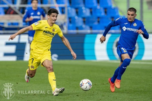 Getafe 1-[3] Villarreal Gerard Moreno goal