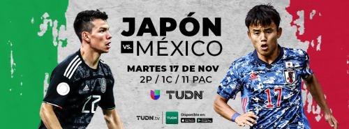 Mexico vs Japan 2020