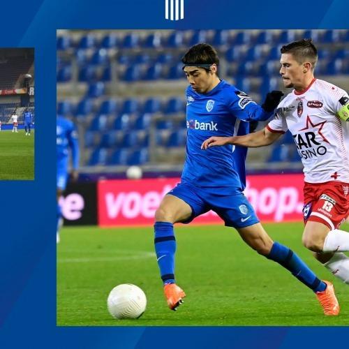 Ito junya goal Genk 4_1 Moeskroen
