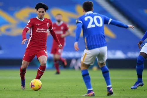 Minamino Brighton 0-0 Liverpool