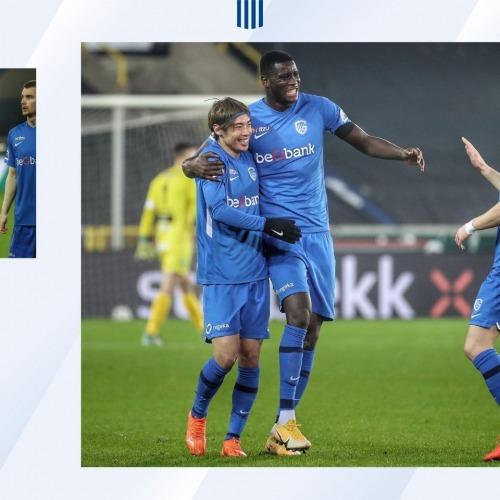 Ito junya goal assist Cercle Brugge 1 - 5 Genk