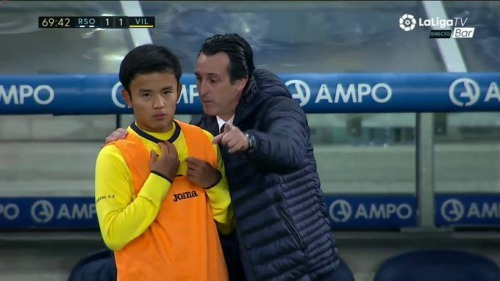 Emery making Kubo uncomfortable