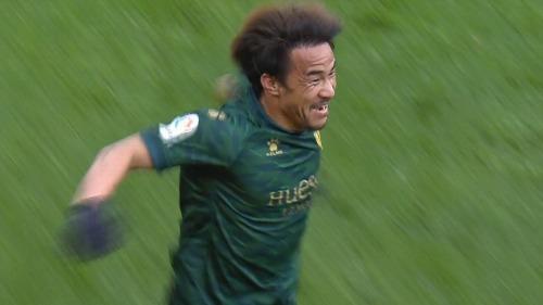 Granada 1-[3] Huesca - Shinji Okazaki goal