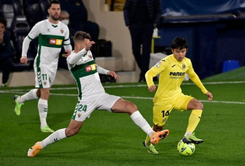 Kubo take Villarreal 0_0 Elche