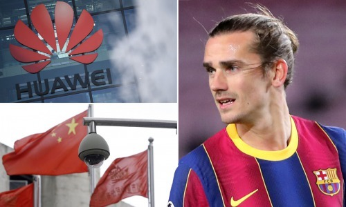 Antoine Griezmann cuts ties with Chinas Huawei over treatment of Uyghurs