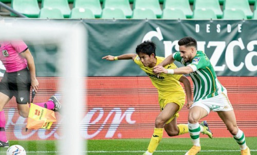 betis_1_1_villarreal Kubo take