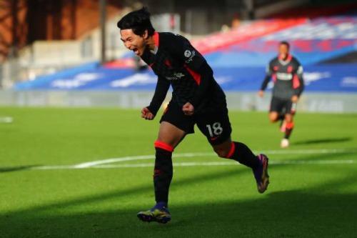 Takumi Minamino Liverpool [1] - 0 Crystal Palace