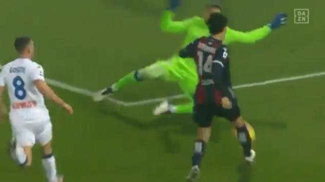 Bologna [1]-2 Atalanta - Takehiro Tomiyasu goal