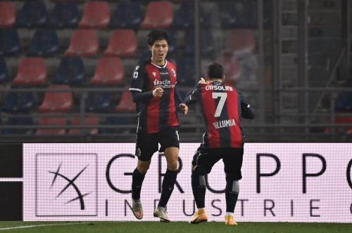 Bologna 2-2 Atalanta - Takehiro Tomiyasu goal