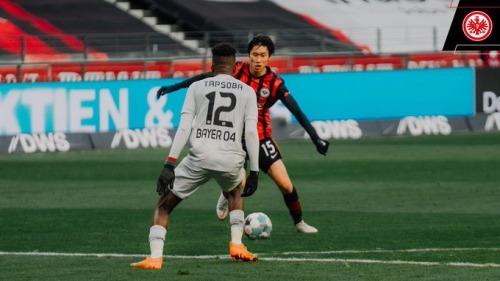 Frankfurt [2]-1 Leverkusen - Edmond Tapsoba OG Kamada assists