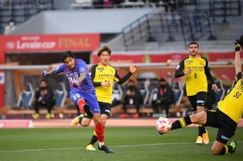 Leandro goal Kashiwa Reysol vs FC Tokyo 2020 Levain CUP Final