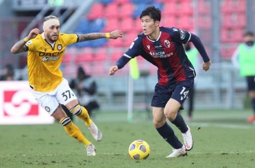 Bologna 1-0 Udinese - Takehiro Tomiyasu goal